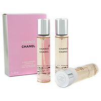 Chanel Chance туалетная вода Set 3 Recharge Twist And Spray 3X20Ml жен 3*20 мл